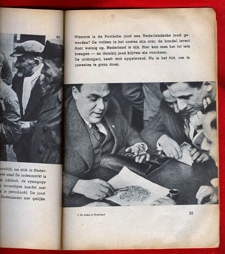 1941 PHOTO BOOK ON JEWS IN THE NETHERLANDS