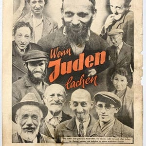 ANTI-SEMITIC POSTER BY STUERMERVERLAG