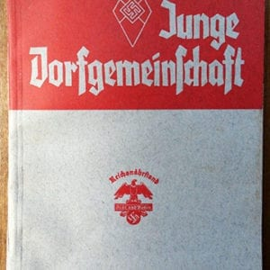 1937 REICHSNÄHRSTAND TRAINING MATERIAL FOR THE 'ARBEITSABEND'