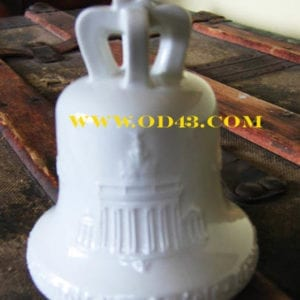 1936 MINT PORCELAIN OLYMPIC BELL BERLIN BY K.P.M.