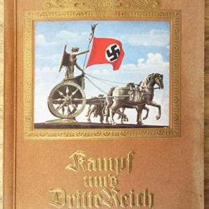 1933 FULL COLOR NAZI BOOK / ALBUM