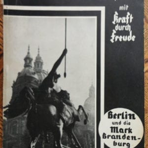 1934 STRENGTH THROUGH JOY PHOTO BOOK ON BERLIN & BRANDENBURG