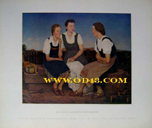 H.HOFFMANN FULL COLOR PORTFOLIO 1943 GERMAN ART EXHIBITION