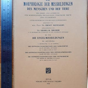 "BOOK FROM ""Dr."" MENGELE'S LIBRARY AT AUSCHWITZ CONCENTRATION CAMP"