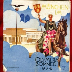 1936 PHOTO BOOKLET ON MUNICH IN THE OLYMPIC SUMMER