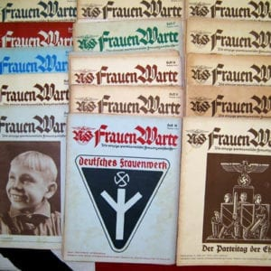 RARE COMPLETE 1936/1937 SET OF THE NS-FRAUENWARTE PERIODICAL