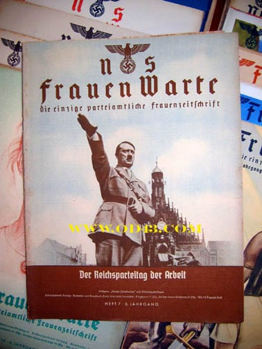 SET OF 25 1937/1938 ISSUES OF THE NS-FRAUENWARTE PERIODICAL