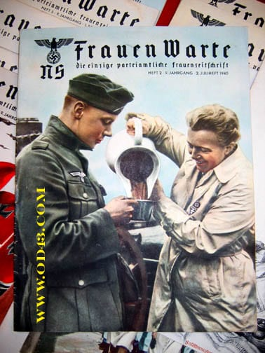 SET OF TWENTY 1940/1941 ISSUES OF THE NS-FRAUENWARTE PERIODICAL