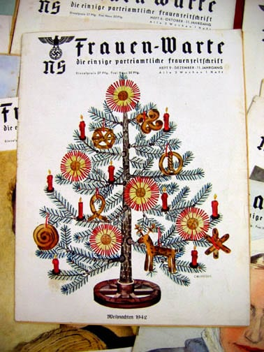 SET OF FIFTEEN 1942/1943 ISSUES OF THE NS-FRAUENWARTE PERIODICAL