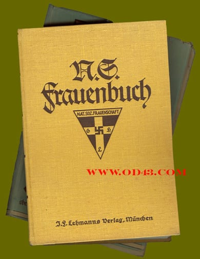 1934 THIRD REICH NS-FRAUENSCHAFT BOOK