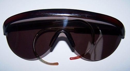 POLAROID GLASSES THE DEFENDANTS AT THE NUREMBERG TRIAL, SUCH AS HERMANN GÖRING WERE WEARING