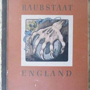 1941 ANTI-BRITISH NAZI BOOK / ALBUM