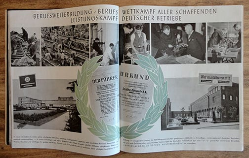 1940 PHOTO BOOK ON HITLER-GERMANY