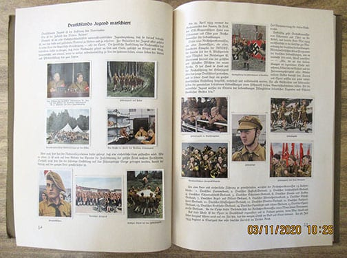 1st YEAR OF NAZI GERMANY WITH 320 FULL COLOR PICTURES