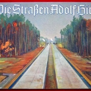 1935 FULL COLOR REICHSAUTOBAHN BOOK