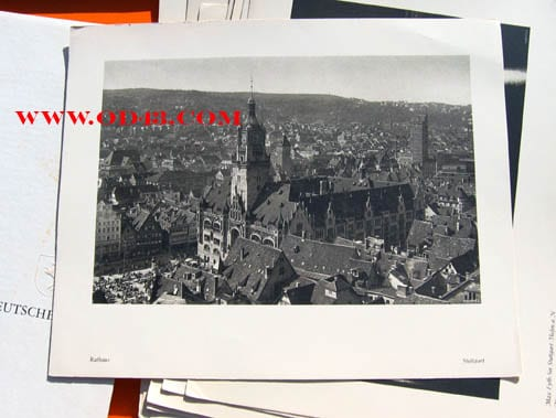 PHOTO BOX ON STUTTGART, CITY OF GERMANS LIVING ABROAD