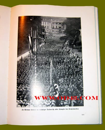 1934 HEAVILY ILLUSTRATED BOOK ON THE SEIZURE OF POWER AND PRINCIPLES OF THE N.S.D.A.P.