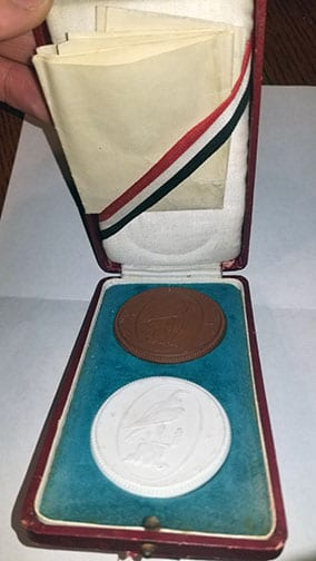 1925 CASED AWARD FROM THE RIGHTWING 'WIKING BUND'