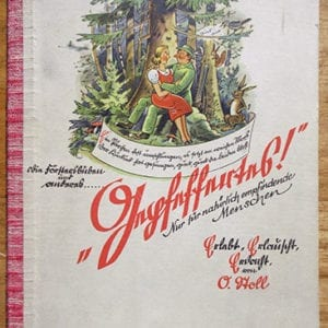 1933 FULL COLOR ILLUSTRATED ANTI-JEWISH BOOK