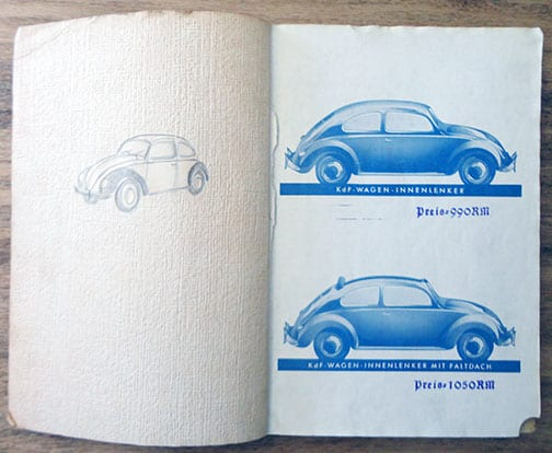 OFFICIAL KdF CAR OWNERS MANUAL