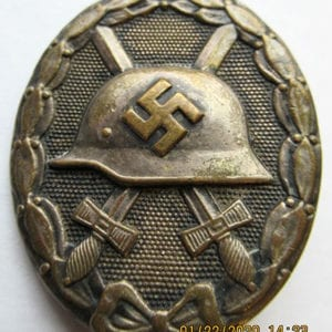 THIRD REICH WOUND BADGE IN SILVER