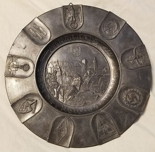 Reich Party Days Plate 0721 Pi 1